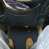 Seat on British Airways, Amsterdam Schiphol Airport (AMS) to London Heathrow Airport (LHR)