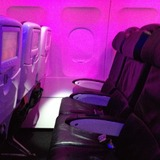 Seat on Virgin America, New York John F Kennedy Airport (JFK) to San Francisco Airport (SFO)