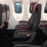 Seat on Austrian, Vienna Airport (VIE) to Prague Airport (PRG)