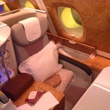 Seat on Emirates, Seoul Incheon Airport (ICN) to Dubai Airport (DXB)