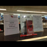 Virgin Atlantic check-in at Dubai Airport (DXB)