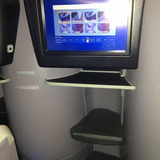 Seat on United, Business or BusinessFirst (front cabin on 2-cabin intl flights;business cabin when a 3-cabin plane), London Heathrow Airport (LHR) to Newark Liberty Airport (EWR)