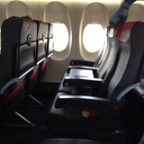 Seat on Austrian, Business, Vilnius Airport (VNO) to Vienna Airport (VIE)